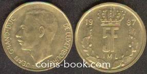 5 франков 1987