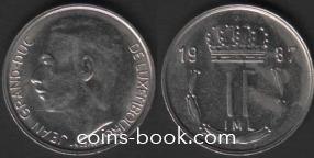 1 франк 1987