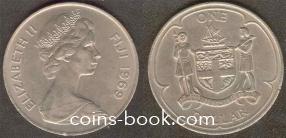 1 доллар 1969