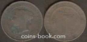 5 центов 1870