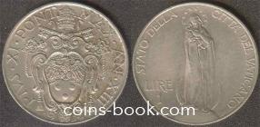 1 lira 1934