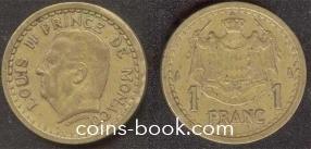 1 франк 1945