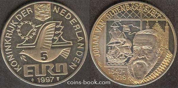 5 евро 1997