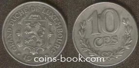 10 сантимов 1918