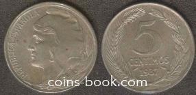 5 centimos 1937