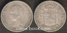 50 сентимо 1892