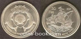 20 франков 2013