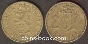20 марок 1954