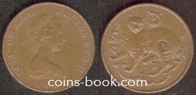 1 пенни 1980
