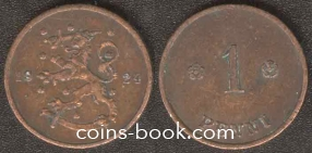 1 пенни 1924