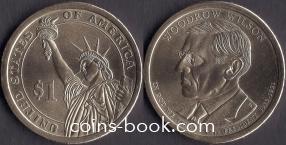 1 доллар 2013