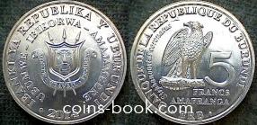 5 франков 2014