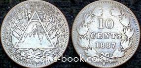 10 сентаво 1887