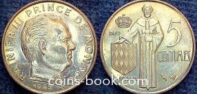 5 сантимов 1995