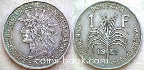 1 франк 1921