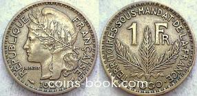 1 франк 1924