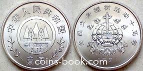 1 yuan 1991
