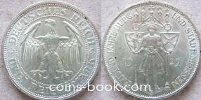 3 рейхсмарки 1929
