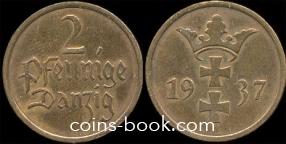 2 пфеннига 1926