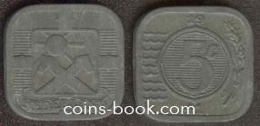5 центов 1941