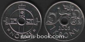 1 крона 2005