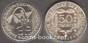 50 франков 2005
