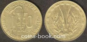 10 франков 1979