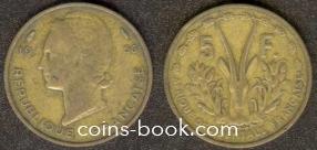 5 франков 1956