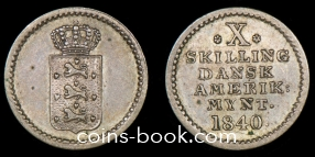 10 скиллингов 1840