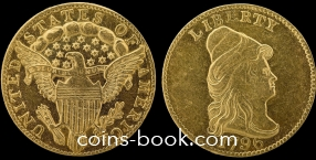 2,5 доллара 1796