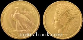 10 долларов 1907
