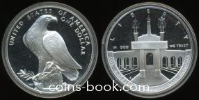 1 доллар 1984