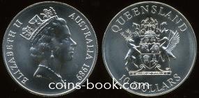 10 долларов 1989