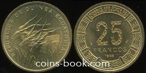25 francs 1985