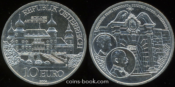 10 евро 2004
