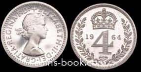 4 пенса 1964