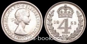 4 пенса 1953