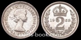 2 пенса 1953