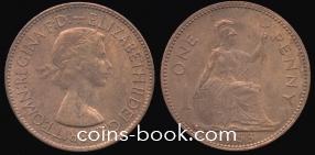 1 пенни 1953