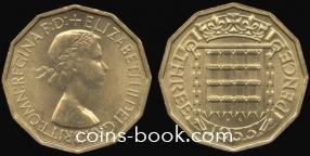 3 пенса 1953