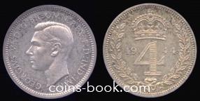 4 пенса 1944