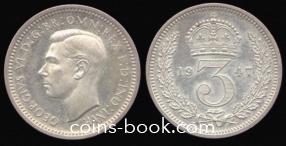 3 пенса 1947