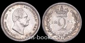 2 пенса 1831