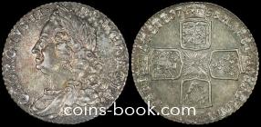 1 шиллинг 1758