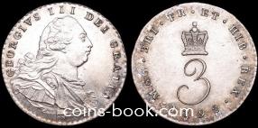 3 пенса 1792