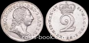 2 пенса 1786