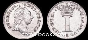 1 пенни 1786