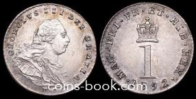 1 пенни 1792