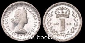 1 пенни 1964