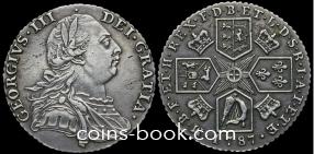 1 шиллинг 1787